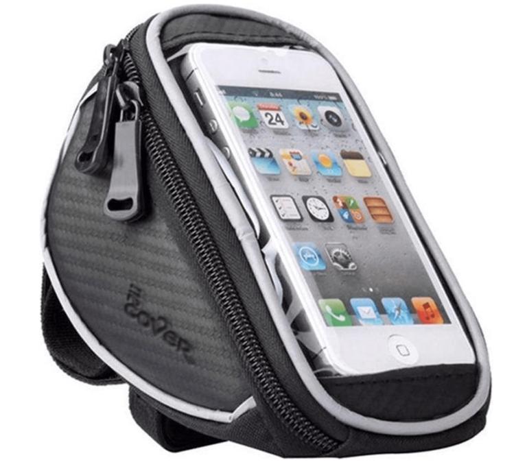Fiets Stuurtas Met Smartphone Houder