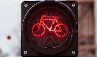 Speed pedele rood licht